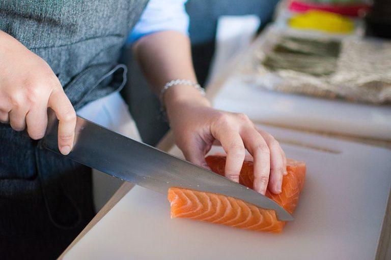 Västerländsk-kockkniv