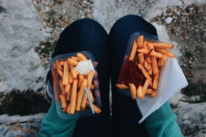 Mat-som-är-friterad