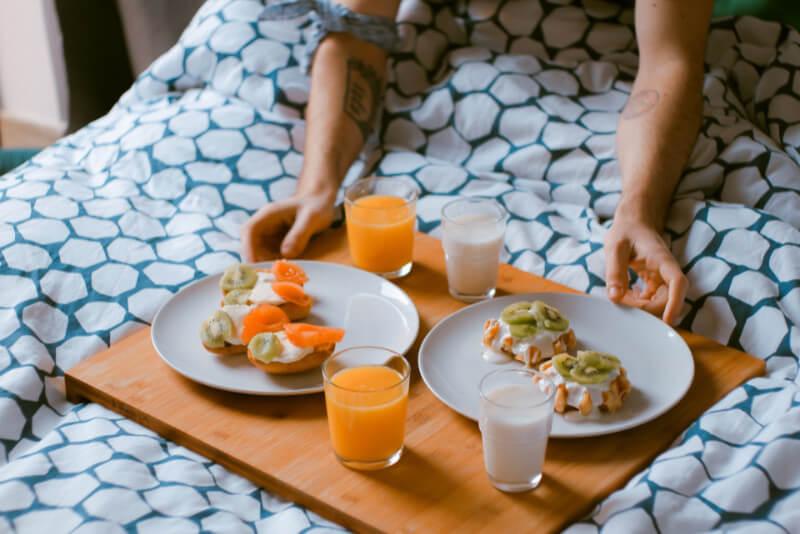 Bästa Frukostbrickan 2021 – 6 Brickor För Frukost på Sängen