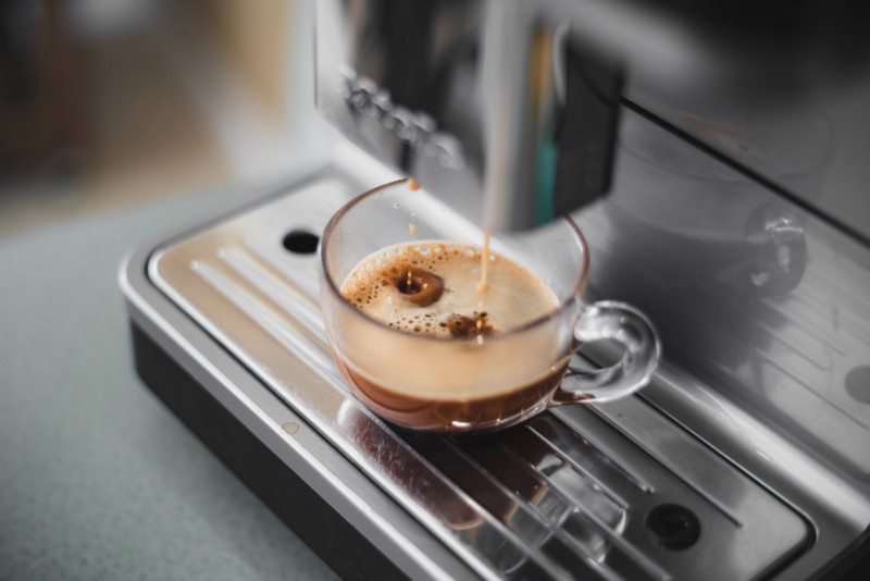 Kaffe-från-kapselmaskin