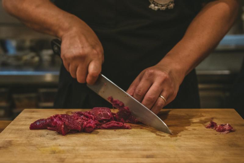 Använder-kockkniv