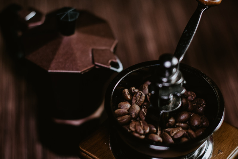 Kaffekvarn-maler