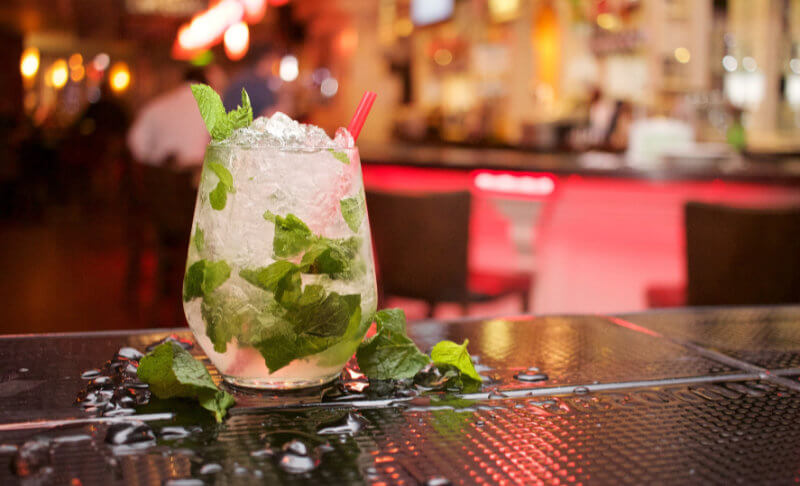 Mojito-med-is